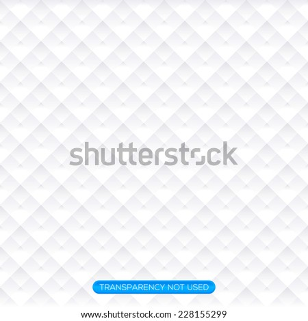 Soft white argyle pattern wallpaper, background - stock vector