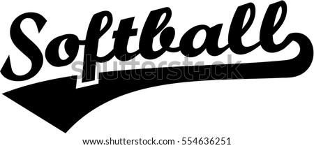 softball stock images  royalty free images   vectors Cool Youth Baseball Logos Baseball Skull Logo