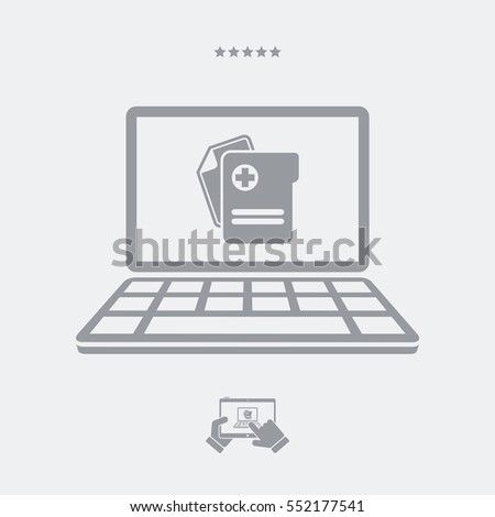 Software medical activity vector flat icon stock vector 552177541 software for medical activity vector flat icon ccuart Choice Image