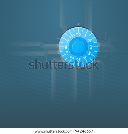 Software Security - stock vector