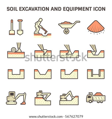 Vector Icon Soil Soil Testing Stock Vector 446949379 ...