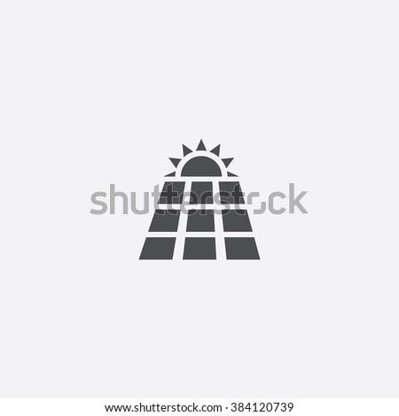 solar energy Icon. solar energy Icon Vector. solar energy Icon Art. solar energy Icon eps. solar energy Icon Image. solar energy Icon logo. solar energy Icon Sign. solar energy Icon Flat - stock vector