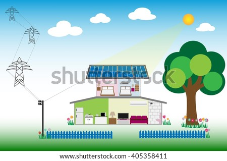 Solar for renewable energy concept