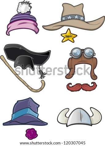 Some cartoon hats (2 of 2)
