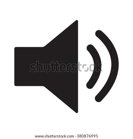 Sound  icon, Sound  icon eps10, Sound  icon vector, Sound  icon eps, Sound  icon jpg, Sound  icon path, Sound  icon flat, Sound  icon app, Sound  icon web, Sound  icon art, Sound  icon, Sound  icon AI - stock vector