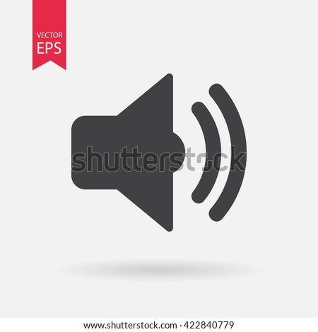 Sound icon, Sound icon vector, Sound icon eps10, Sound icon, Sound icon eps, Sound icon jpg, Sound icon flat, Sound icon app, Sound icon web, Sound icon art, Sound icon, Sound icon AI, Sound icon  - stock vector