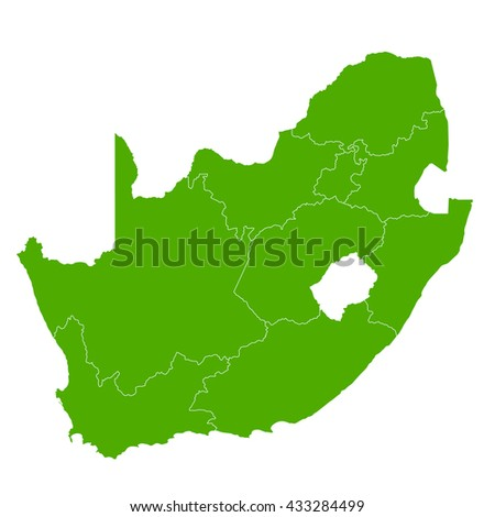 South Africa map Country icon