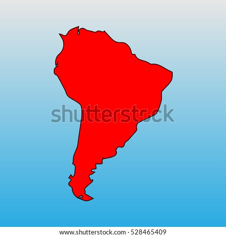South America South map