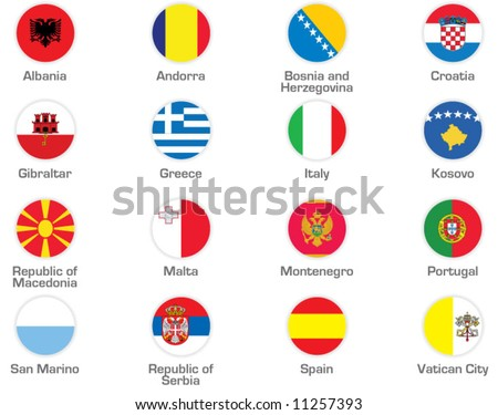 Southern Europe - stock vector