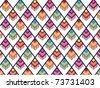 Southwestern pattern - stock vector