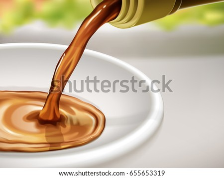 Dinner Table Background soy sauce ad chinese word sauce stock vector 655653331 - shutterstock