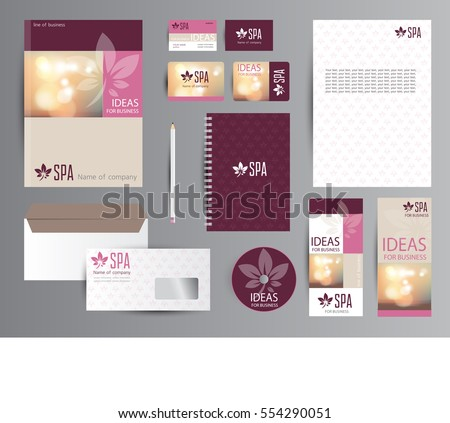 SPA identity with logotype.
