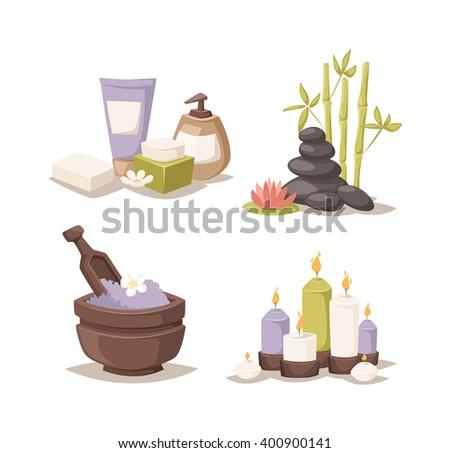 Spa logo lotus wellness salon and business spa logo. Business spa logo massage healthy design template concept. SPA logos vector typography wellness label natural candles design template. - stock vector