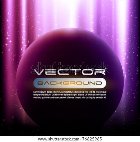 space background vector - stock vector