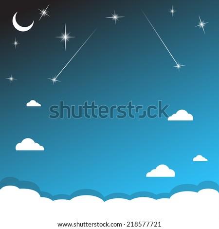 cartoon night vector wallpaper - photo #36