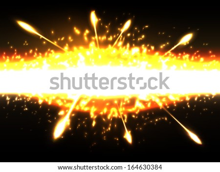 Space explosion, vector illustration, eps10. Glad to see you in my portfolio=)