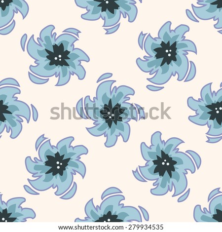 Space galaxy , cartoon seamless pattern background