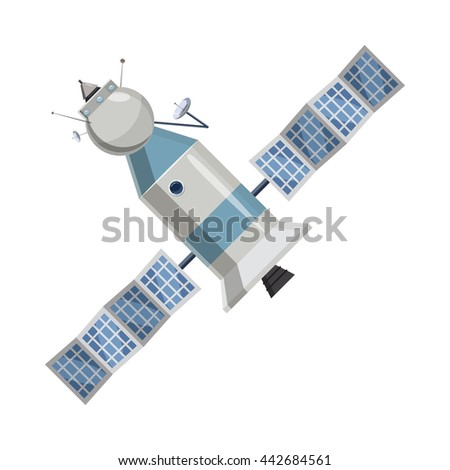 Cartoon Space Station Stock Images, Royalty-Free Images ...