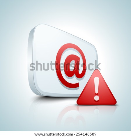 Spam - stock vector
