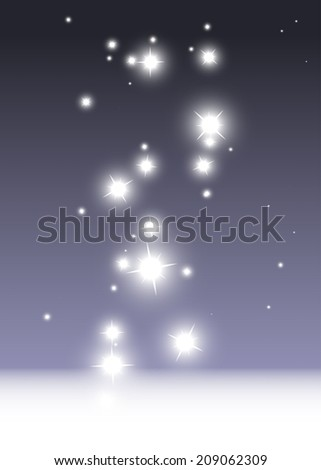 Sparkle template vector purple background illustration - Abstract purple sparks and glitters vector background illustration - stock vector