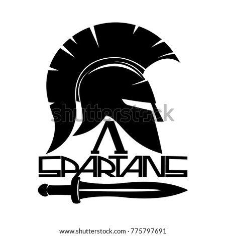 Spartan Shield Silhouette