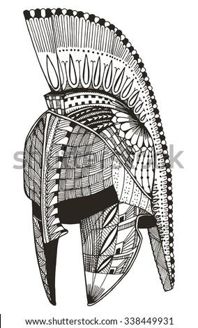 gladiator tattoo stock images royalty free images vectors shutterstock. Black Bedroom Furniture Sets. Home Design Ideas