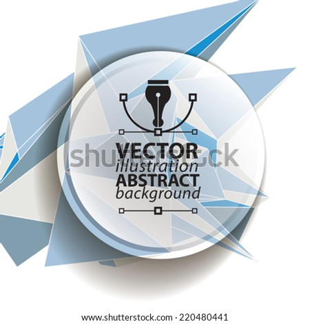 Spatial vector digital eps10 backdrop. Dimensional technology background with overlay spot elements, geometric polygonal structure, science and technology theme illustration. - stock vector