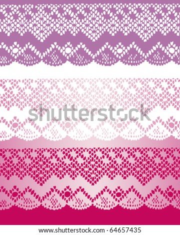 special lace - stock vector