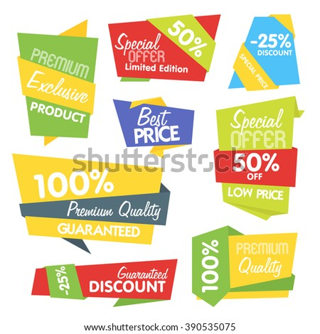 Special offer sticker.  Special offer vector isolated. Promotion sticker. Price labels. Sale limited offer sticker. Advertisement tag. Tag template. Discount sticker. Best price tag. Big sale tag. Tag