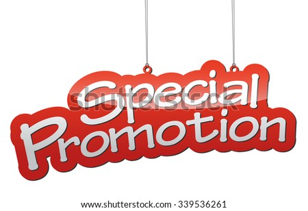 special promotion, red vector special promotion, red tag special promotion, background special promotion, illustration special promotion, element special promotion, design special promotion - stock vector