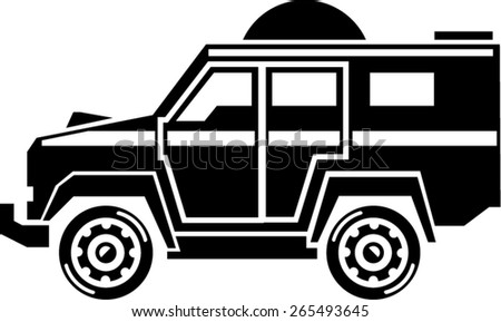 Specialty Vehicle - stock vector