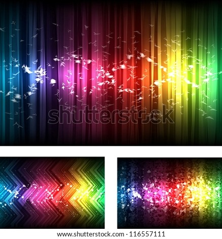 spectrum texture - stock vector