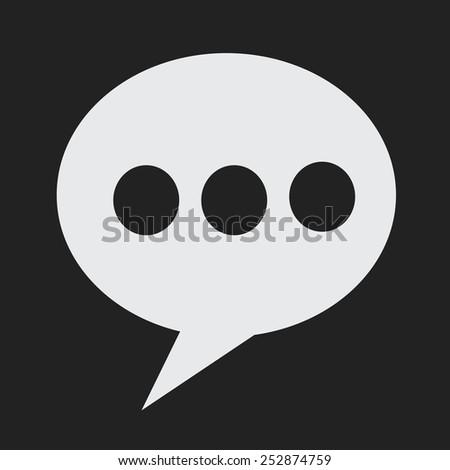 Speech Bubble ,   bubbles,  thought bubble,  speech bubbles vector,  speech bubble icon - stock vector