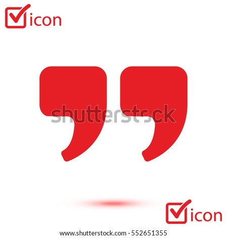 chat symbols quotes