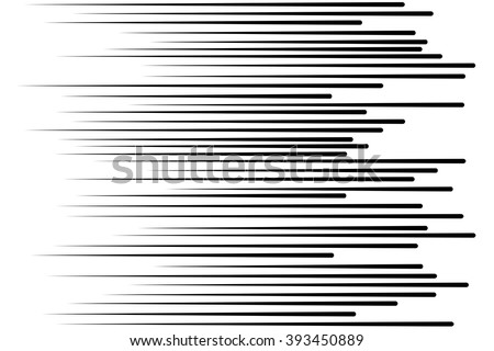 Speed lines Flying particles Seamless pattern Fight stamp Manga  graphic texture Sun rays or star burst Black vector elements on white background - stock vector