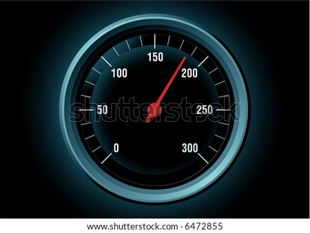 Speed. Vector illustration - stock vector