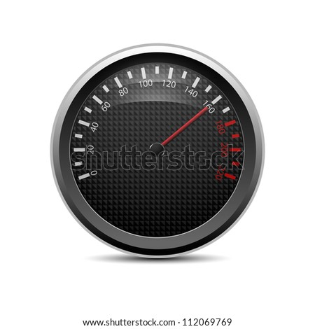 Speedometer, eps10 - stock vector