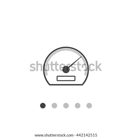 speedometer Icon JPG, speedometer Icon Graphic, speedometer Icon Picture, speedometer Icon EPS, speedometer AI, speedometer Icon JPEG, speedometer Icon Art, speedometer Icon, speedometer Icon Vector - stock vector