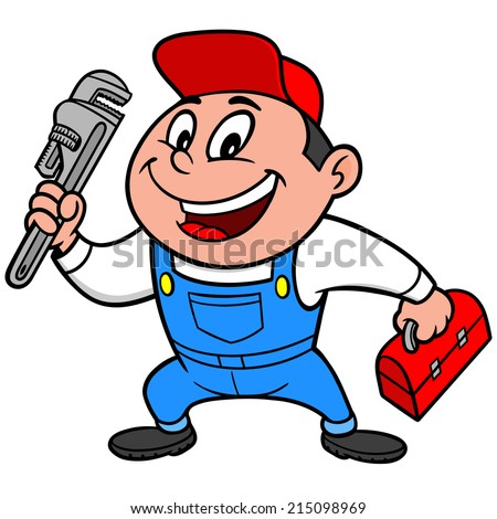 Speedy Mechanic - stock vector