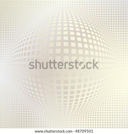 Sphere digital background, disco ball, nightclub - stock vector