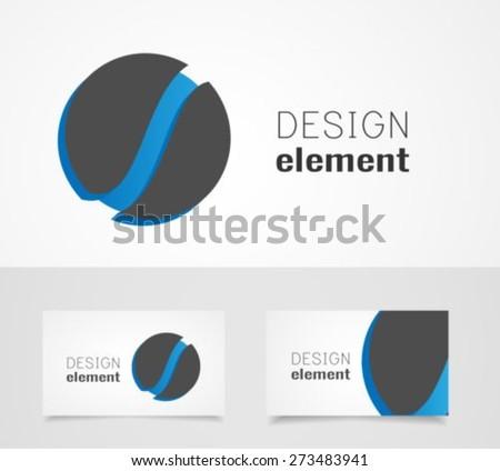 Sphere logo design template - stock vector
