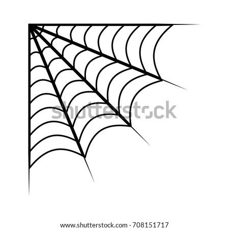 spider web vector symbol icon design stock vector royalty free