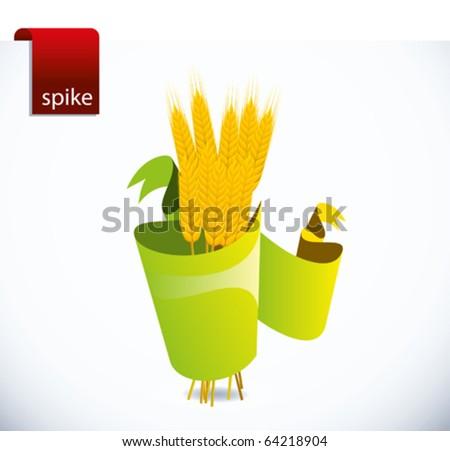spike - stock vector