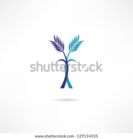 Spikes icon - stock vector