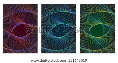 Spiral Abstract vector background  - stock vector