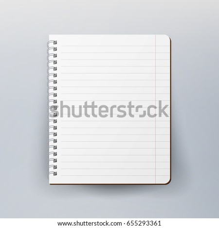 Notepad Images RoyaltyFree Images Vectors – Notepad Paper Template