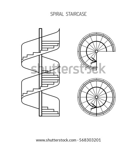 handrail extensions for  mercial stairs furthermore spiral staircase as well b  f   e  z further tugas akhir teknik gambar bangunan in addition p  s. on 2d drawing in autocad architecture