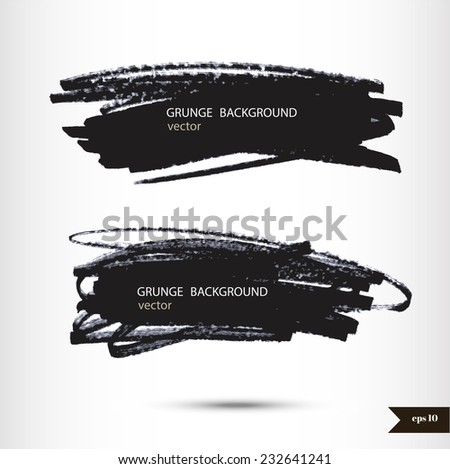 Splash banner. Watercolor background. Grunge background. Vintage background. Texture background. Hand drawn background with place for your text - stock vector