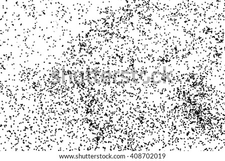 Splatter background. Black glitter blow explosion and splats on white. Grunge texture. Abstract grainy isolated grungy effect. Grain overlay. Dusty dirty black surface. Distress design elements.  - stock vector