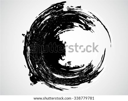 Splatter Background . Black Ink Splats . Spray Paint Splatters . Vector Paint Splats . Blots and Splashes . Grunge Ink Stains . Distress Vector Stains for Grunge Effects . Ink Splats for Design Use - stock vector